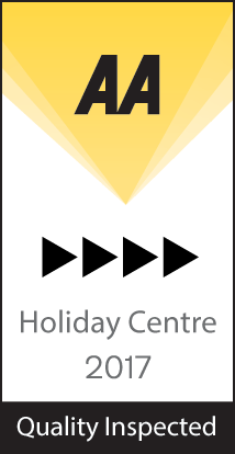 Widemouth Bay Caravan Park AA - 4 Penant Award