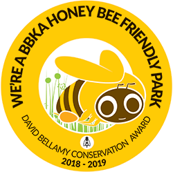 Widemouth Bay Caravan Park David Bellamy Conservation Award - Honey Bee Friendly