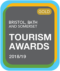 Sandy Glade Holiday Park Bristol, Bath and Somerset Tourism Award - Gold